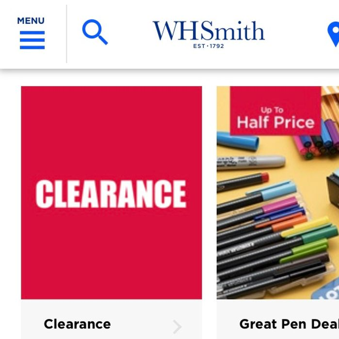 Clearance Offers Starting from £1.49