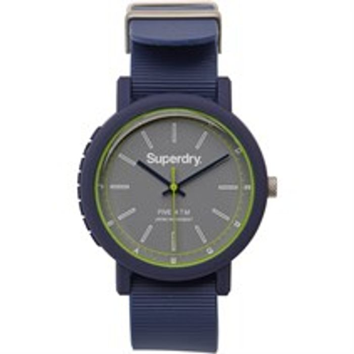 Superdry Mens Watch Blue