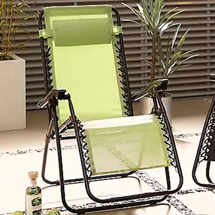 Cheap Royale Folding Sun Lounger Deck Type Chair Only £49