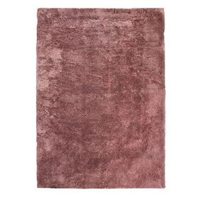 Rose Gold Breeze Rug at Dunelm - Only £17.5!