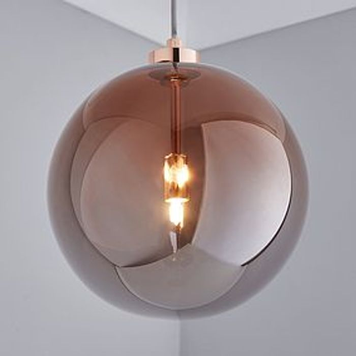 Copper Ceiling Fitting at Dunelm - Only £26!