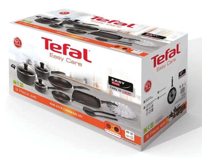 Tefal Easycare 9-Piece Cookware Set
