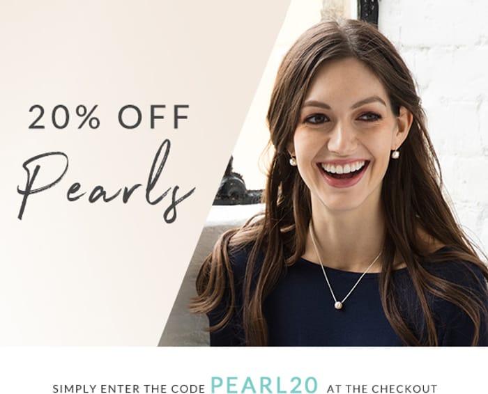 Enjoy 20% off Pearls!
