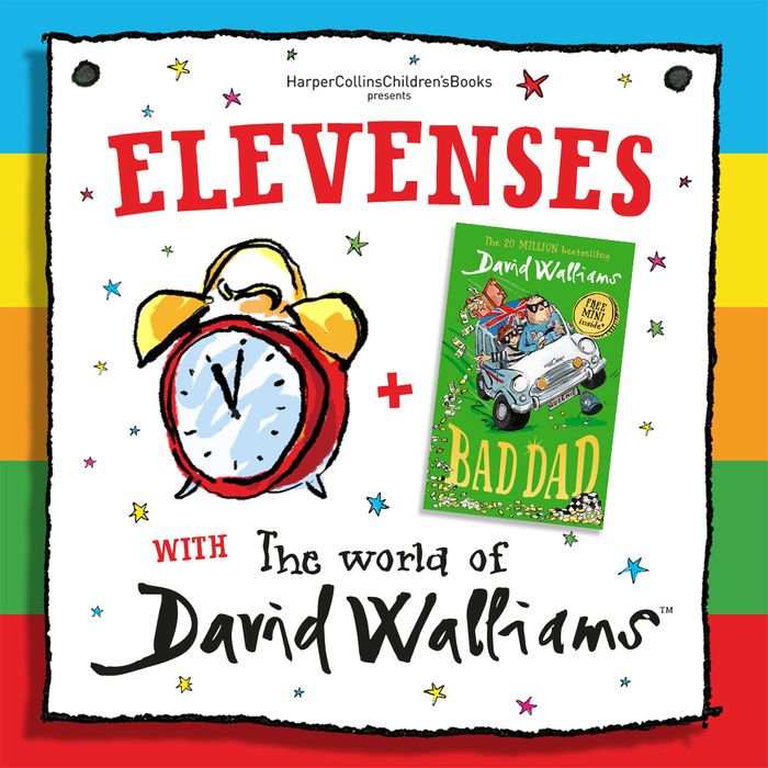 Free Audio Story from David Walliams Every Day at 11 Am