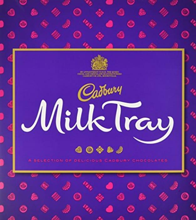 Cadbury Milk Tray Chocolate Box, 360g