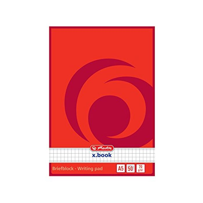 Herlitz A5 Writing Pads Only £0.83