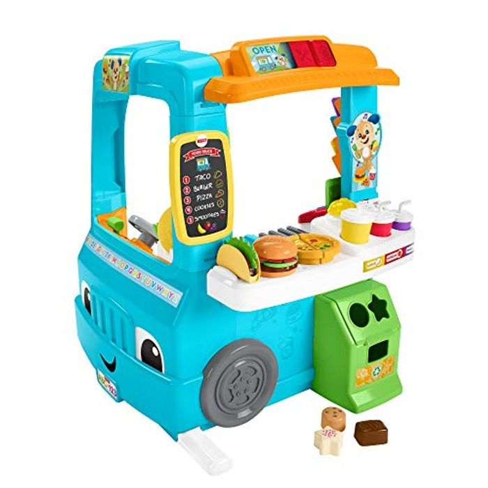 Fisher-Price Laugh and Learn Servin up Fun Food Truck (SAVE £30)