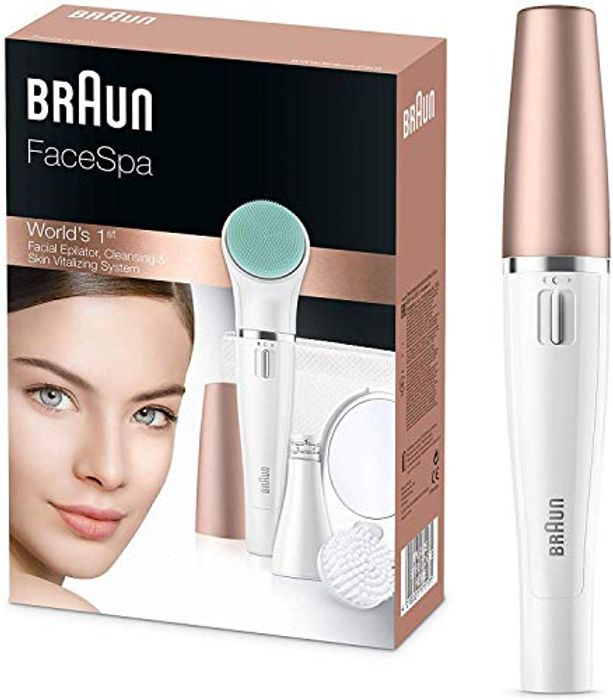 Cheap Braun FaceSpa 851V 3-in-1 Face Epilator - Only £44.99!