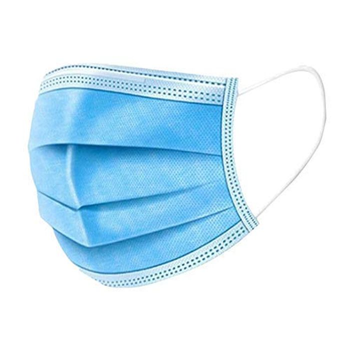 MERSUII Face Disposable,100 Surgical Face Masks