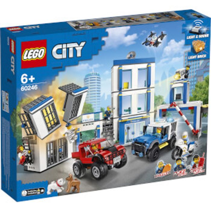 47 different Lego sets reduced including 60246 Police Station + another 20% off