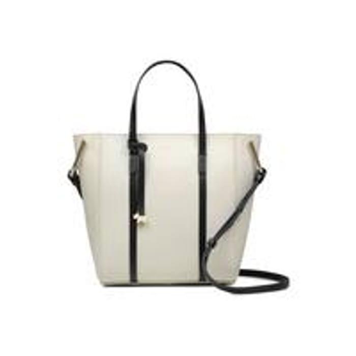 *SAVE over £60* Radley Alba Place Mini Small Zip Top Mulitway Bag - Chalk