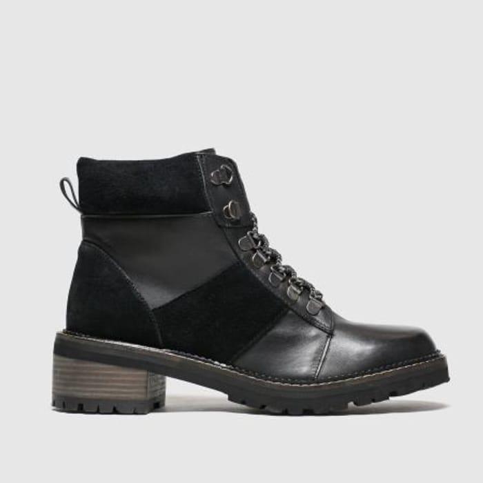 Schuh - Black Globetrotter Boots