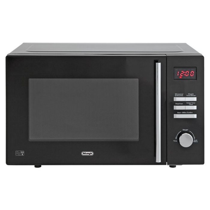 Best Price! De'Longhi 900W Microwave with Grill AM820C - Black