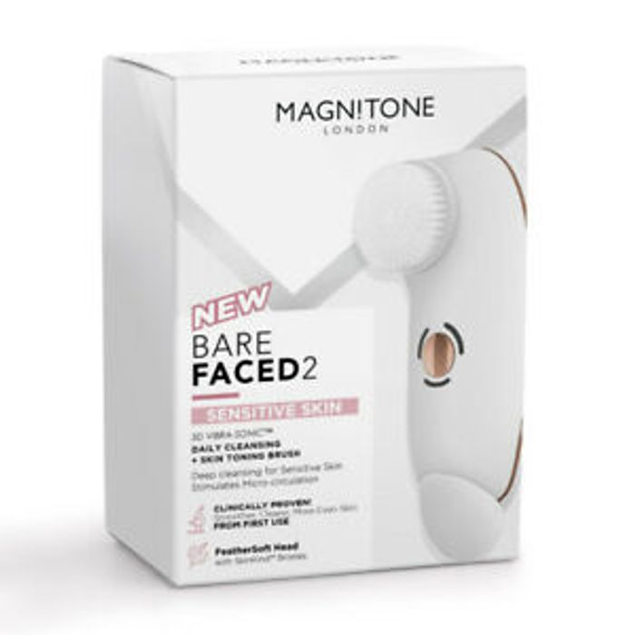 Cheap BareFaced 2 Daily Cleansing and Skin Toning Brush Only £37.99