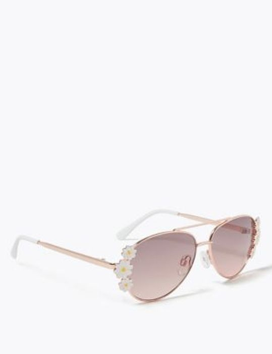 Kids' Daisy Aviator Sunglasses