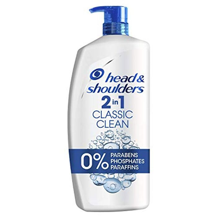 Head & Shoulders Classic Clean 2-in-1 Anti Dandruff Shampoo Only £7