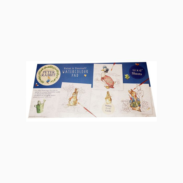 Cheap Peter Rabbit Paint It Yourself Watercolour Pad - Save £3!