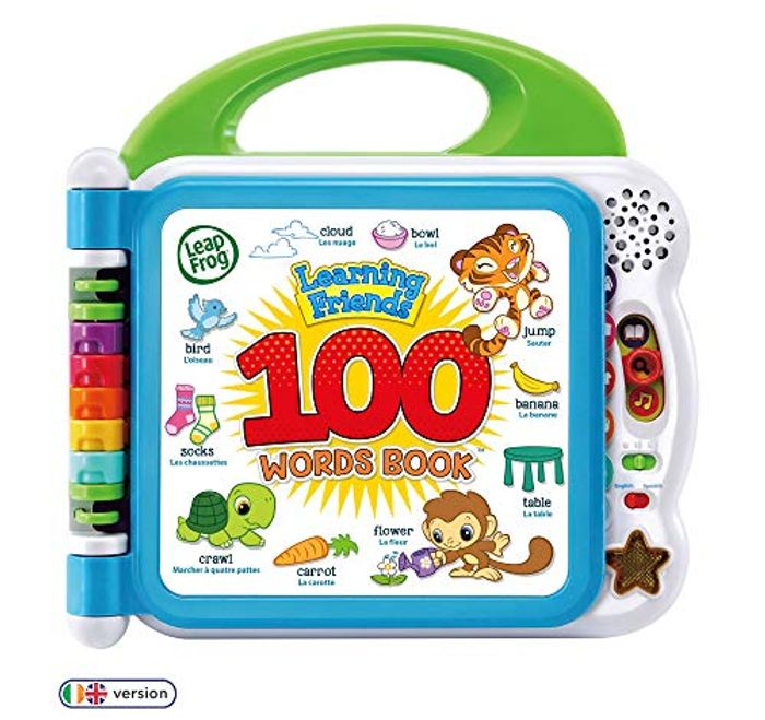 LeapFrog 601503 Learning Friends 100 Words Book