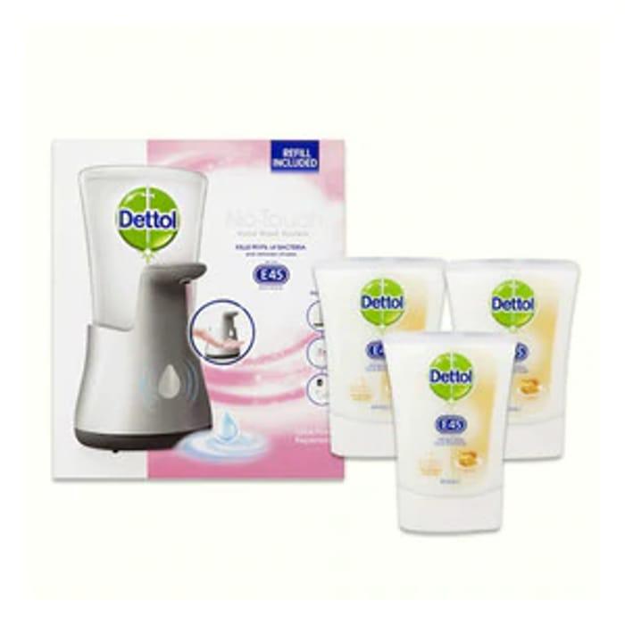 Dettol No Touch Handwash System Bundle 4 Refills