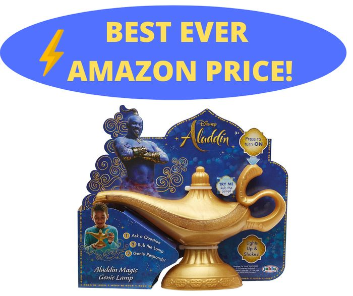 Aladdin Feature Genie Lamp