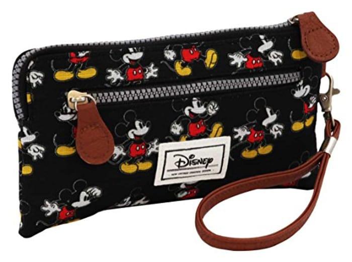 Disney Classic Mickey Moving Toiletry Bag, 21 Cm, Black (Negro)