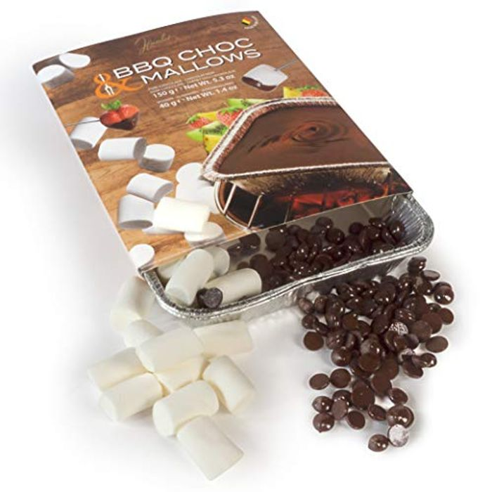Cheap BBQ Choc Mallows 150 G - Fondue Chocolate - Chocolate Fondue Only £7.99