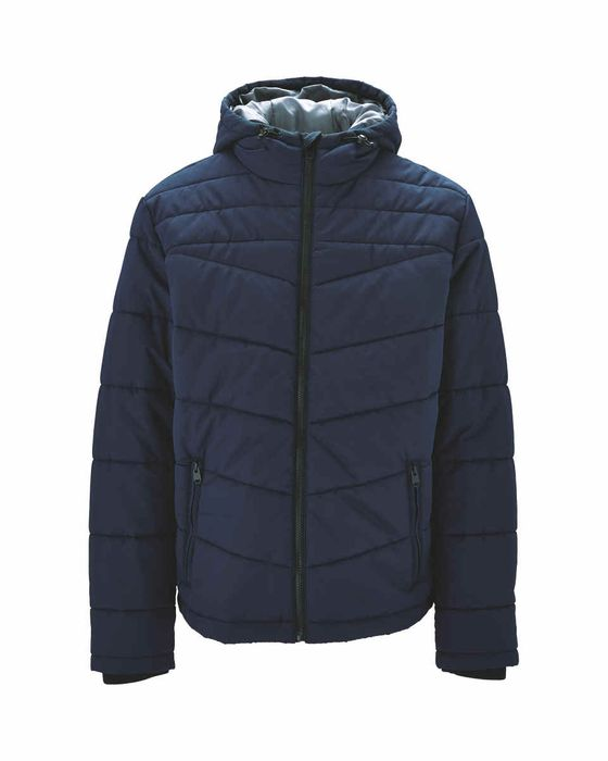 Navy Men's Quilted Jacket - Save £10