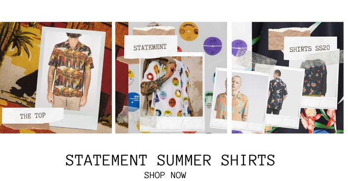 Statement Summer Shirts, Neon Tees & 20% Off