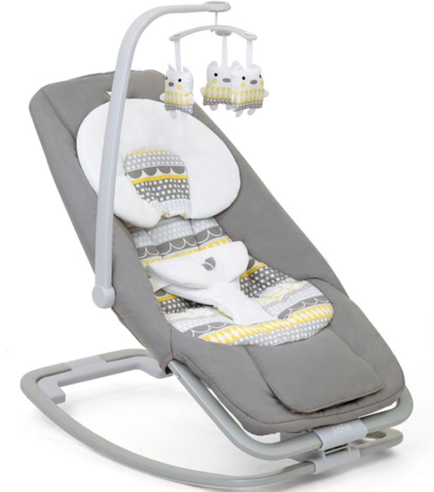 Joie Mothercare Exclusive Dreamer Baby Rocker - Heyday Grey