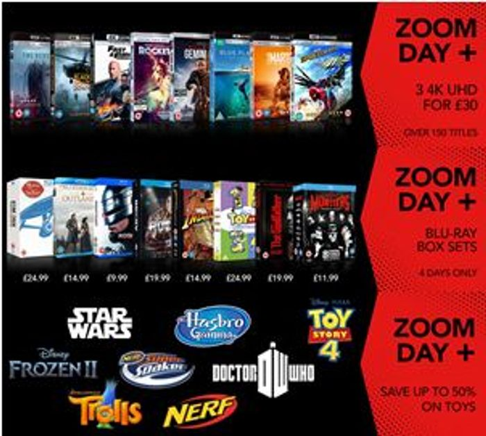 Zoom Day - Starts Friday 29th May - DEALS! DEALS! DEALS! (Ends Monday!)