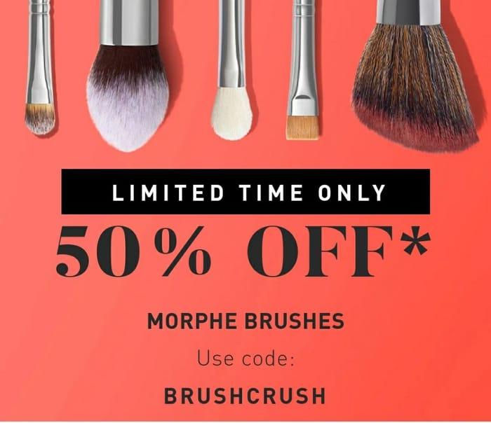 50% off Single Brushes