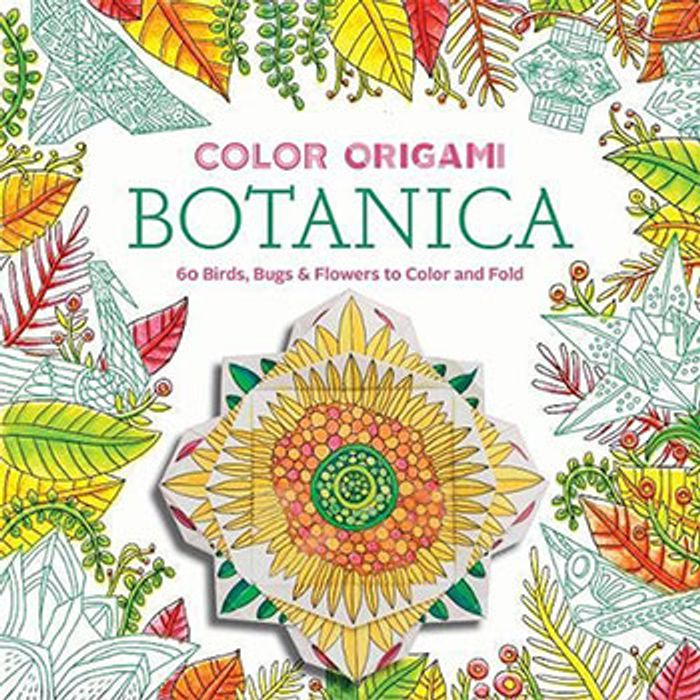 Color Origami Botanica - Adult Colouring Book - Only £1.5!