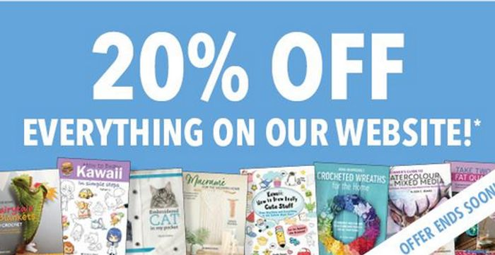 20% off Everything on Our Website!