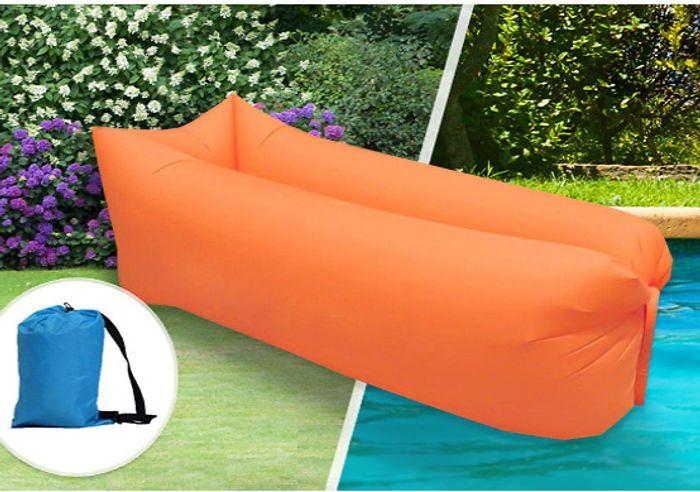 Self Inflatable Air Loungers - 6 Colours - £12.98 Delivered
