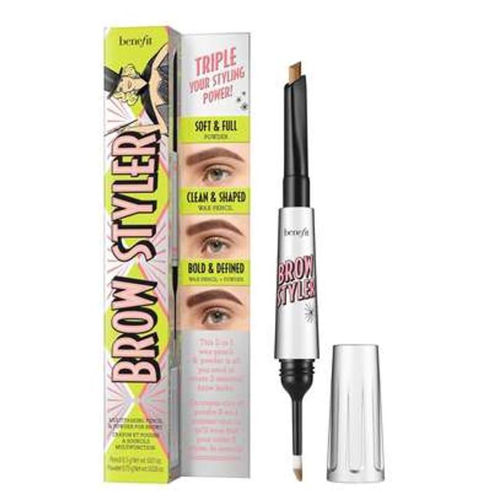 Cheap Benefit Brow Styler Eyebrow Pencil & Powder Duo - Save £6!