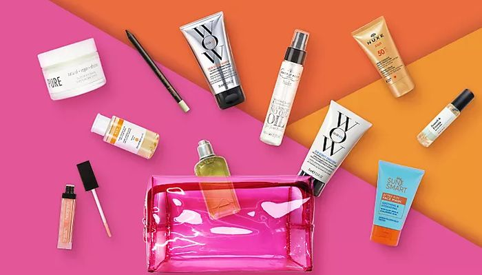 M&S Summer Beauty Bag Worth £110 For £15 With Orders £25+