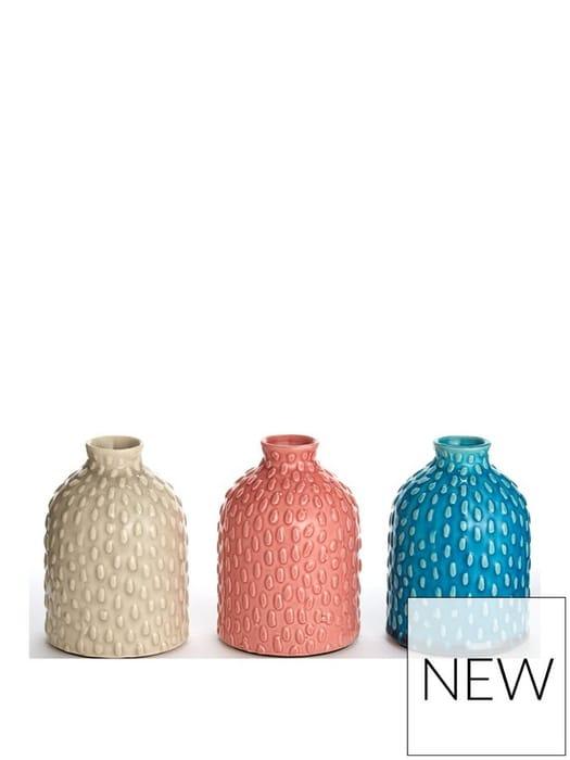 Set of 3 Decorative Pots