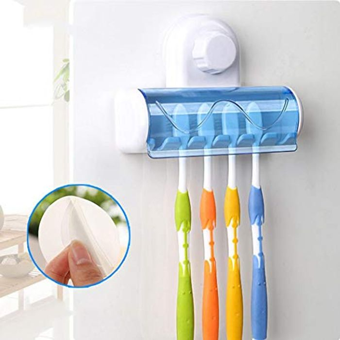 Wall-Mounted Toothbrush Holder - 80% Off