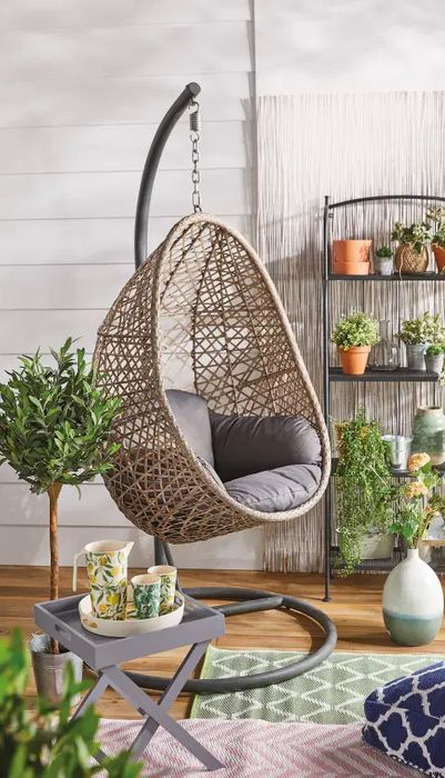 Heads up the Aldi Egg Chair Available to Pre Order Sunday 31st May