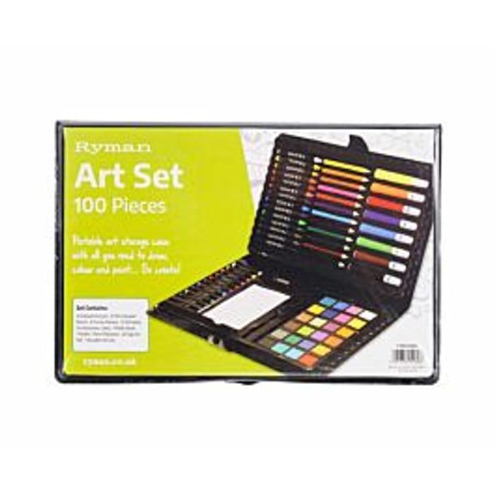 Rymans 100 Piece Art Set - save 1/3