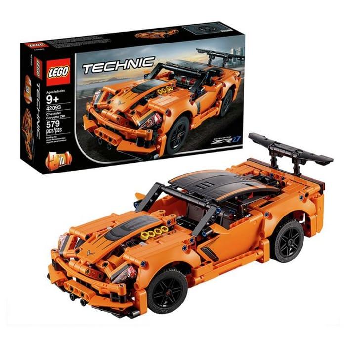 Cheap LEGO Technic Chevrolet Corvette ZR1 Rally Car Set - 42093 Only £24!