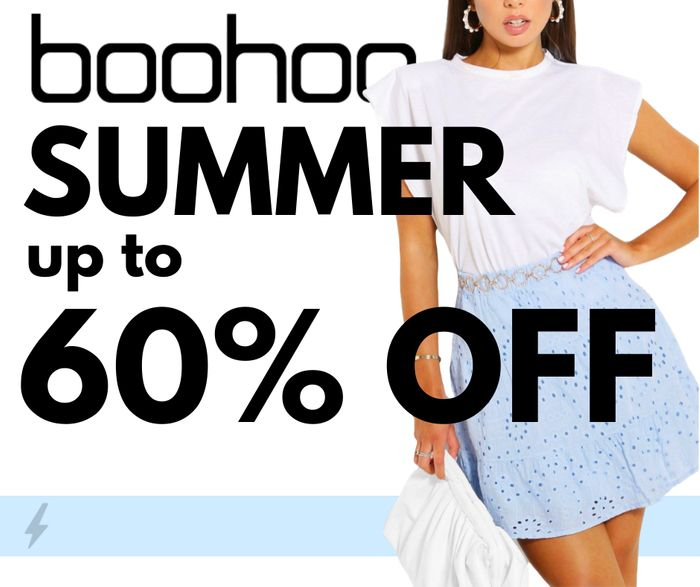 Boohoo Summer Clothes: Up to 60% off Sale