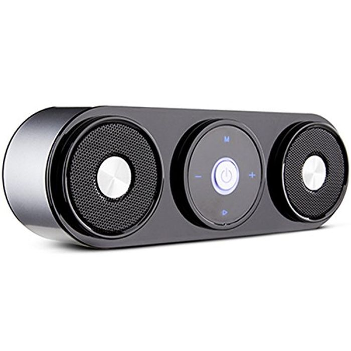 Bluetooth Speaker with 20hr Playtime, Support TF Card, FM