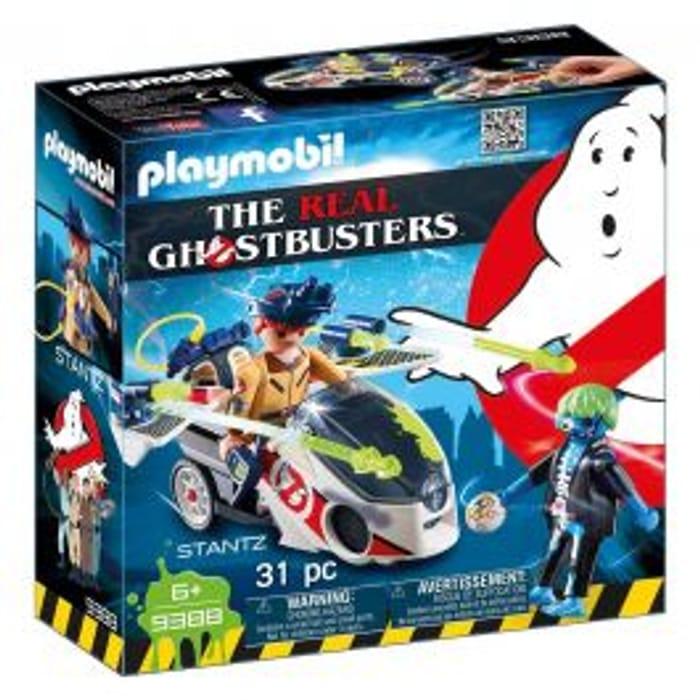 Playmobil Ghostbusters Stantz with Skybike 9388