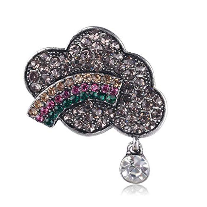 Rainbow Brooch Free Delivery