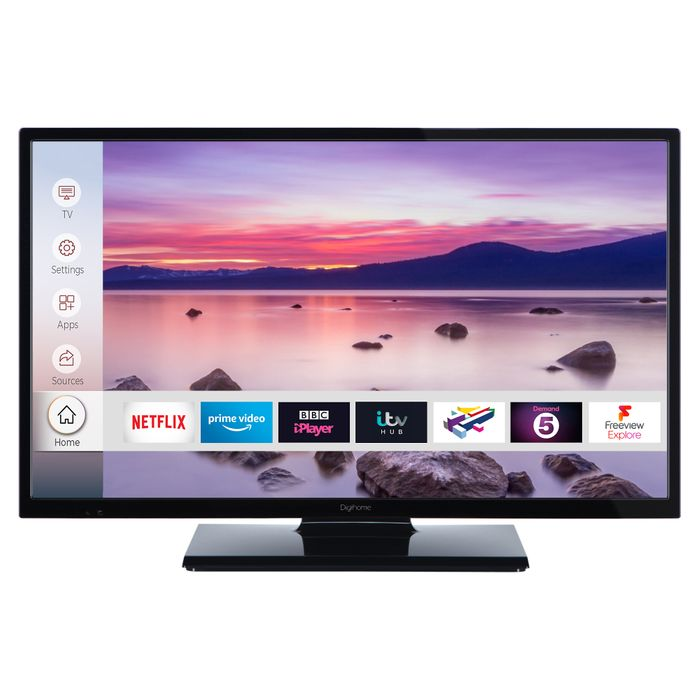 """SAVE £40* Digihome 32"""" HD Ready Smart TV Freeview Play £159 with Code"""