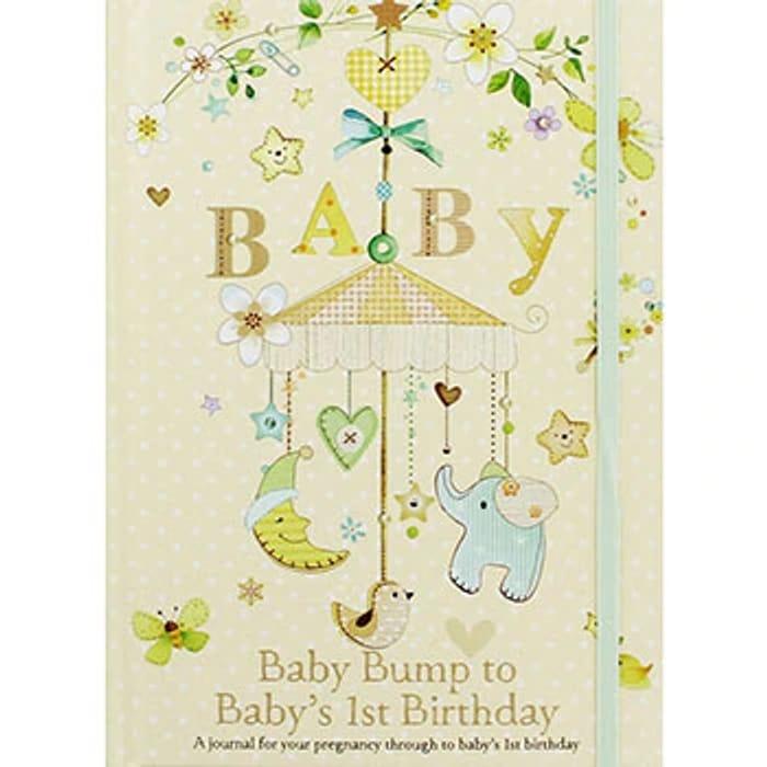 Baby Bump to 1st Birthday Journal