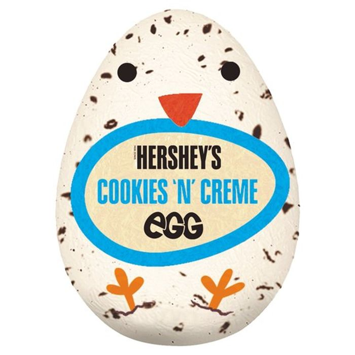 CASE of 48 X Hersheys Cookies & Creme Egg 34G BBE 15/6/20