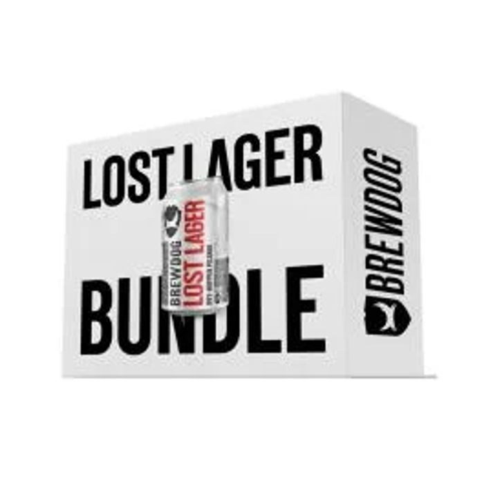 *Save over £20* Headliner Lost Lager 48 X Can