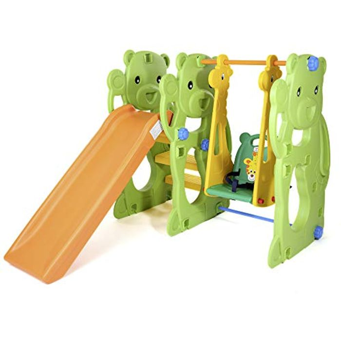 CHEAP! Baby Vivo Kids Swing Playground Children Play Area Garden with Slide